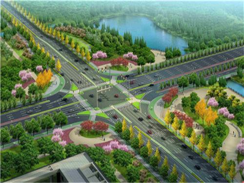 高铁新区道路及基础设施建设项目