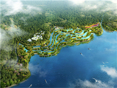 大运河生态林场项目,占地面积7500亩,2.1亿