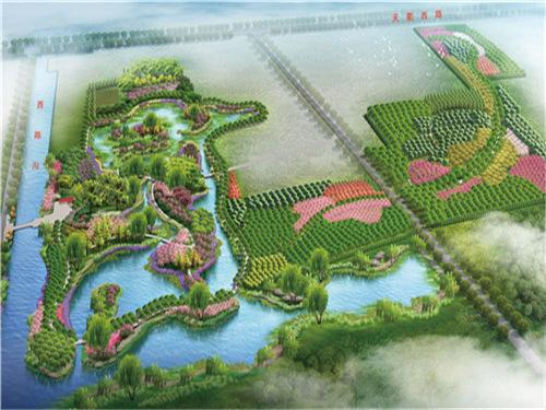 西陈沟升级生态湿地公园